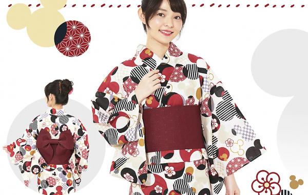 东京迪士尼设计的夏日和服/浴衣是什么样的?